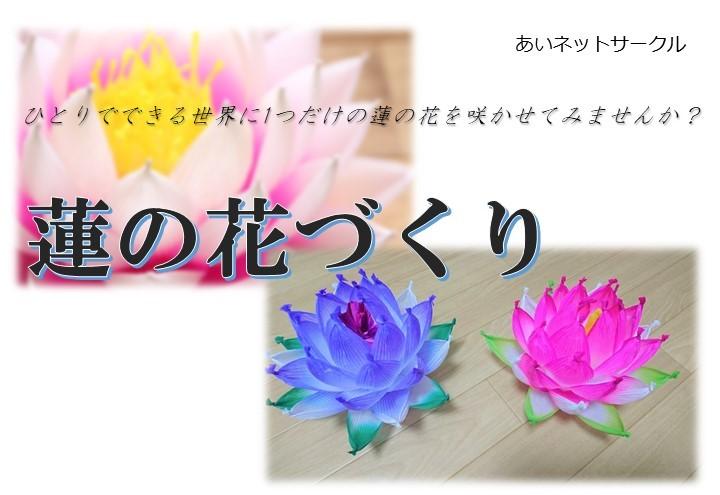 7月7日(水)蓮の花づくり