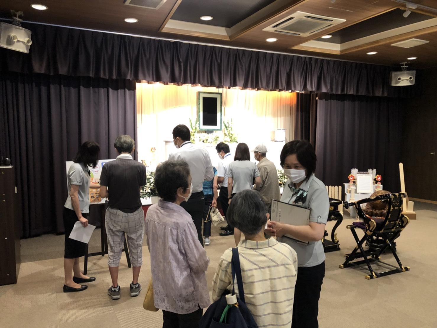7月24日(土)「家族葬体験会」イベント開催レポート